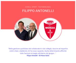 HiSkill Sport Testimonianza Filippo Antonelli